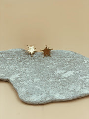 Homecoming Starlight Studs | 18kt Solid Gold