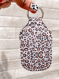 Cheetah Hand Sanitizer Holder