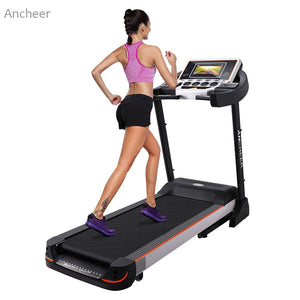 Motorized Treadmill Fitness Folding Electric Treadmill Exercise Equipment Running Jogging Machine LED Display WiFi