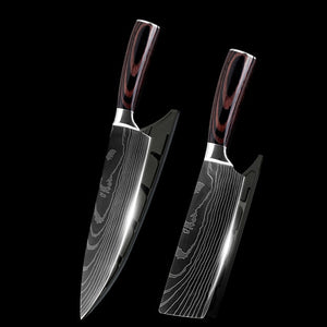 "Stainless Steel quality 8"" inch Utility Gift Chef Knives"
