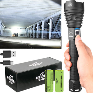 XHP90.2 Most Powerful LED Torch Flashlight