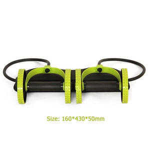 ABS Wheel Roller Men Women Fitness Muscle Trainer Fitness Equipment for Gym Trainer Home Workout Exercise Machine Fitness