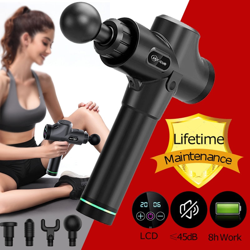 Muscle Massage Gun Deep Tissue Massager Therapy Gun Exercising Muscle Pain Relief Body Shaping  recovery muscle