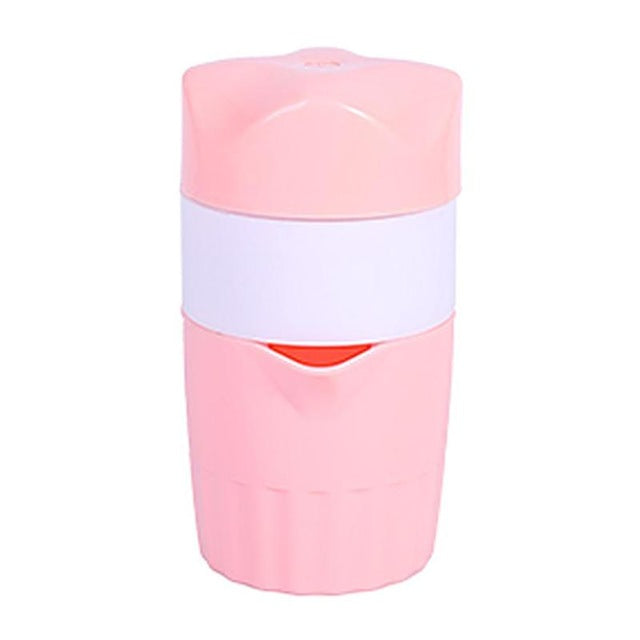 Portable 300ml Manual Lemon Juicer Orange Citrus Lemon Fruit Squeezer Fruit Coffee Cup Potable Juicer Machine Dropshipping