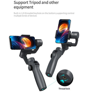 Handheld Gimbal Stabilizer Selfie Stick Video Record 3Axis Smartphone Stabilizer Support IOS 9.0 Android 5.0 Stable Selfie Stick
