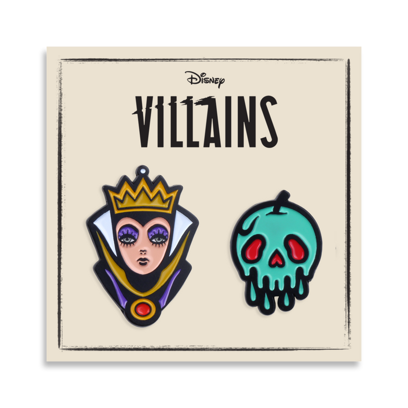 Snow White – Evil Queen 2-Pin Set