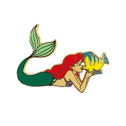 Ariel and Flounder Pin - Limited Edition of 600