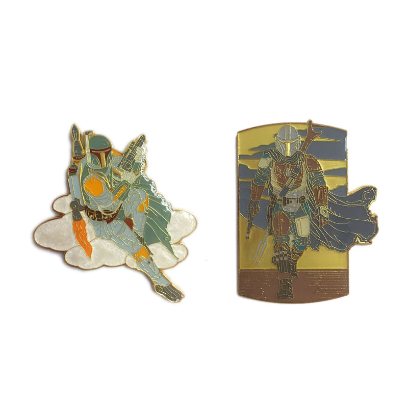 Mandalorian Secure the Asset Pin - Limited Edition of 600