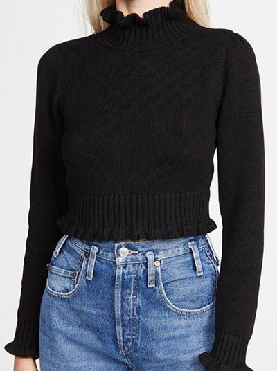 rag-poets-cropped-ruffled-mock-neck-sweater