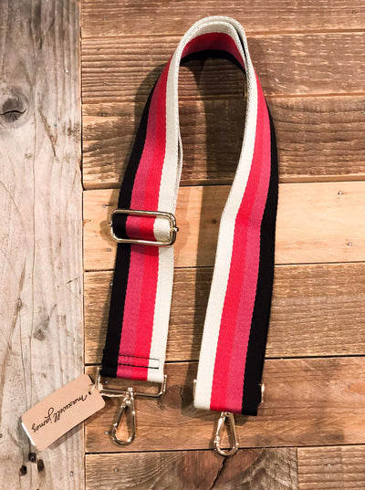 Maxwell-james-ahdorned-raspberry-black-creame-strap