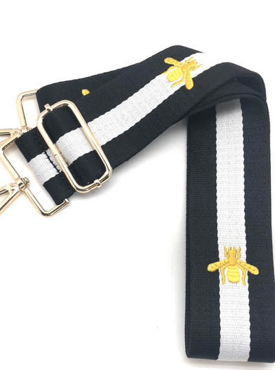 maxwell-james-ahodorned-black-white-stripe-bee-strap