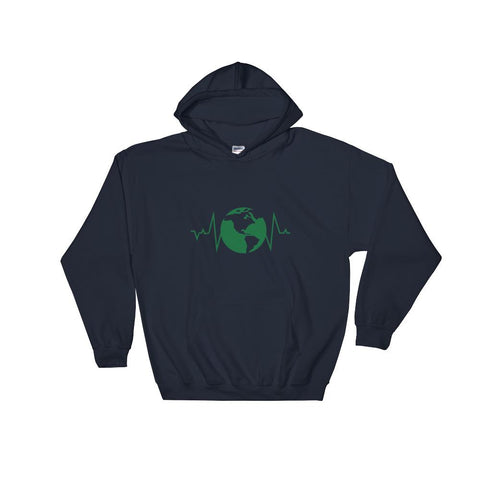 Earth Pulse Hooded Sweatshirt - Manakin Dance