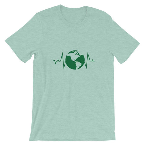 Earth Pulse Short-Sleeve Unisex T-Shirt - Manakin Dance