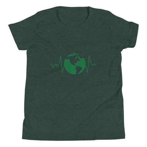 Earth Pulse Youth Short Sleeve T-Shirt - Manakin Dance
