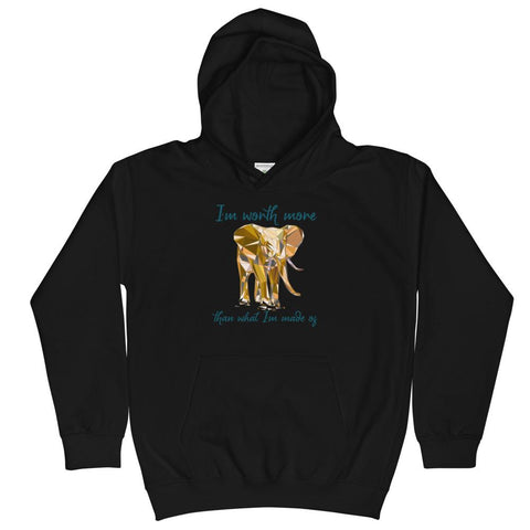 Elephant Anti-Trafficking Kids Hoodie - Manakin Dance