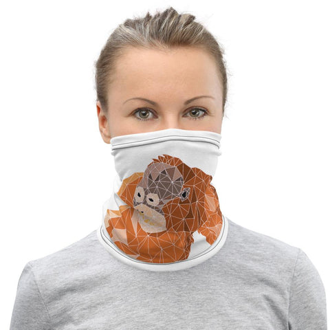 Give Me Room to Breathe - Orangutan Neck Gaiter - Manakin Dance