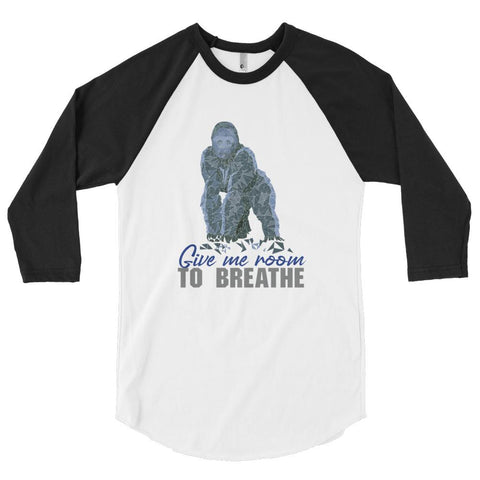 Gorilla Habitat Protection 3/4 Sleeve Raglan Shirt - Manakin Dance