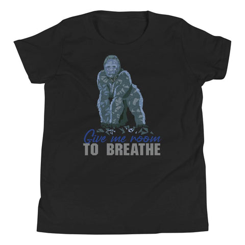 Gorilla Habitat Protection Youth Short Sleeve T-Shirt - Manakin Dance