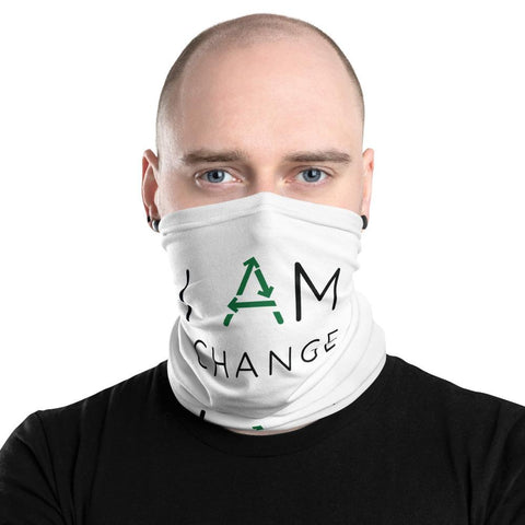 I Am Change - Neck Gaiter - Manakin Dance