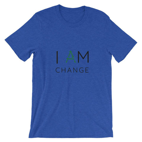 I Am Change Short-Sleeve Unisex T-Shirt - Manakin Dance