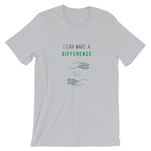 I Can Make A Difference Short-Sleeve Unisex T-Shirt - Manakin Dance