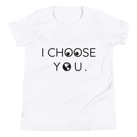 I Choose You Youth Short Sleeve T-Shirt - Manakin Dance