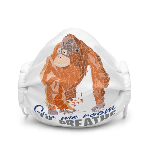 Orangutan Habitat Protection - Premium Face Mask - Manakin Dance