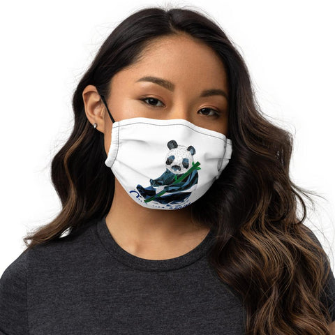 Panda Habitat Protection - Premium Face Mask - Manakin Dance