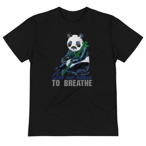 Panda Habitat Protection Sustainable T-Shirt - Manakin Dance