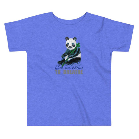 Panda Habitat Protection Toddler Short Sleeve Tee - Manakin Dance