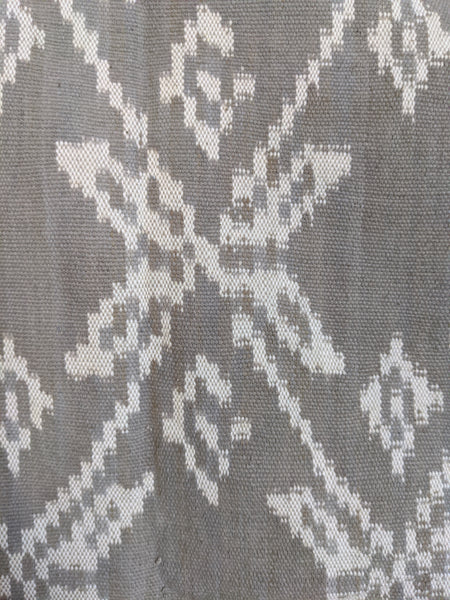 Ikat from Rote Ndao, soft Grey