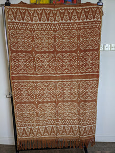 Ikat from Rote Ndao, Coral natural dye
