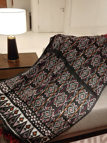 Ndao Ikat Soft Cotton Throw