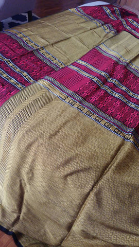 Ultrafine Silk Batak Ulos Tumtuman, North Sumatra Songket