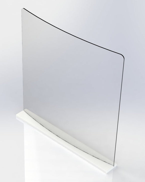 Large Table Top Shield 32