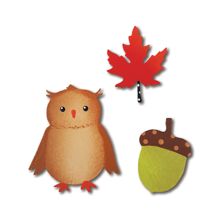 Fall Icon Magnets S/3