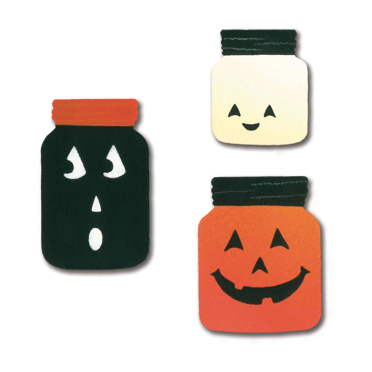 Halloween Canning Jar Magnets | Set of 3