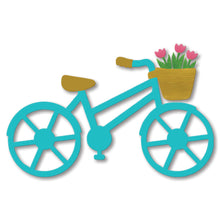 Load image into Gallery viewer, Bike w/ Tulips Magnet