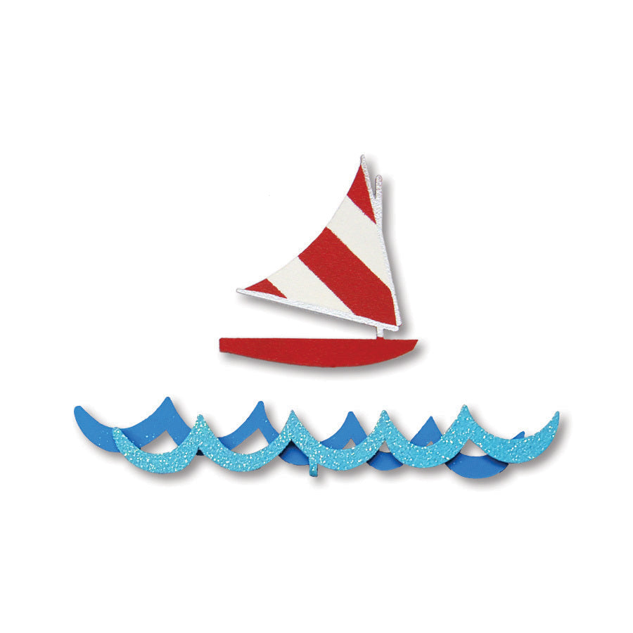 Sailboat & Waves Magnets