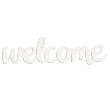 "Load image into Gallery viewer, ""Welcome"" Magnetic Wall Art"