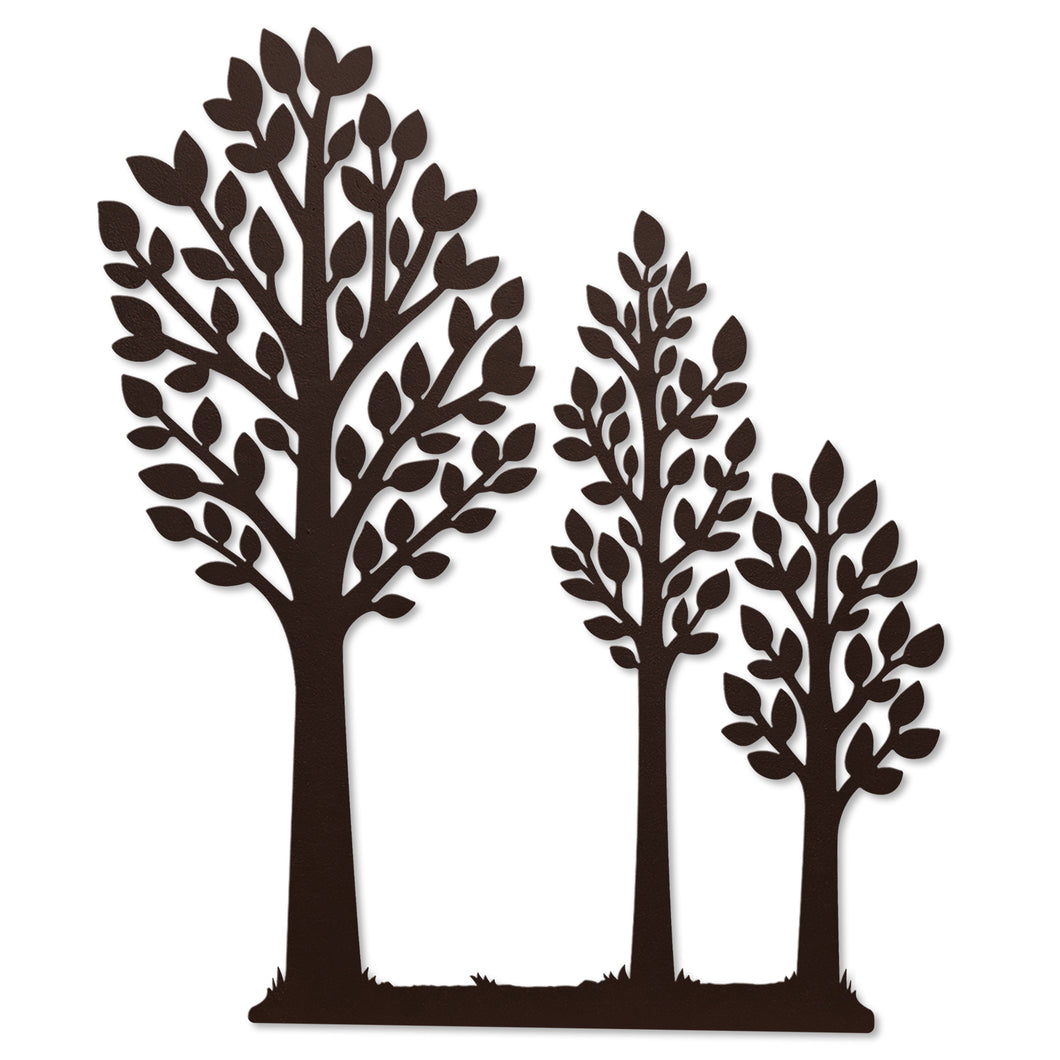 Everyday Trees w/ Wood Base Magnetic Décor
