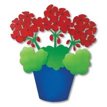 Load image into Gallery viewer, Geranium Pot Magnet