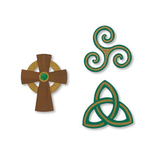 Load image into Gallery viewer, Celtic Symbol Magnets S/3