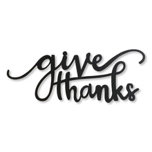 "Load image into Gallery viewer, ""Give Thanks"" Magnet"