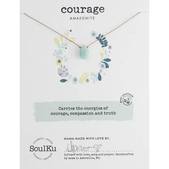 Soulku Soul Full Necklace Courage Amazonite