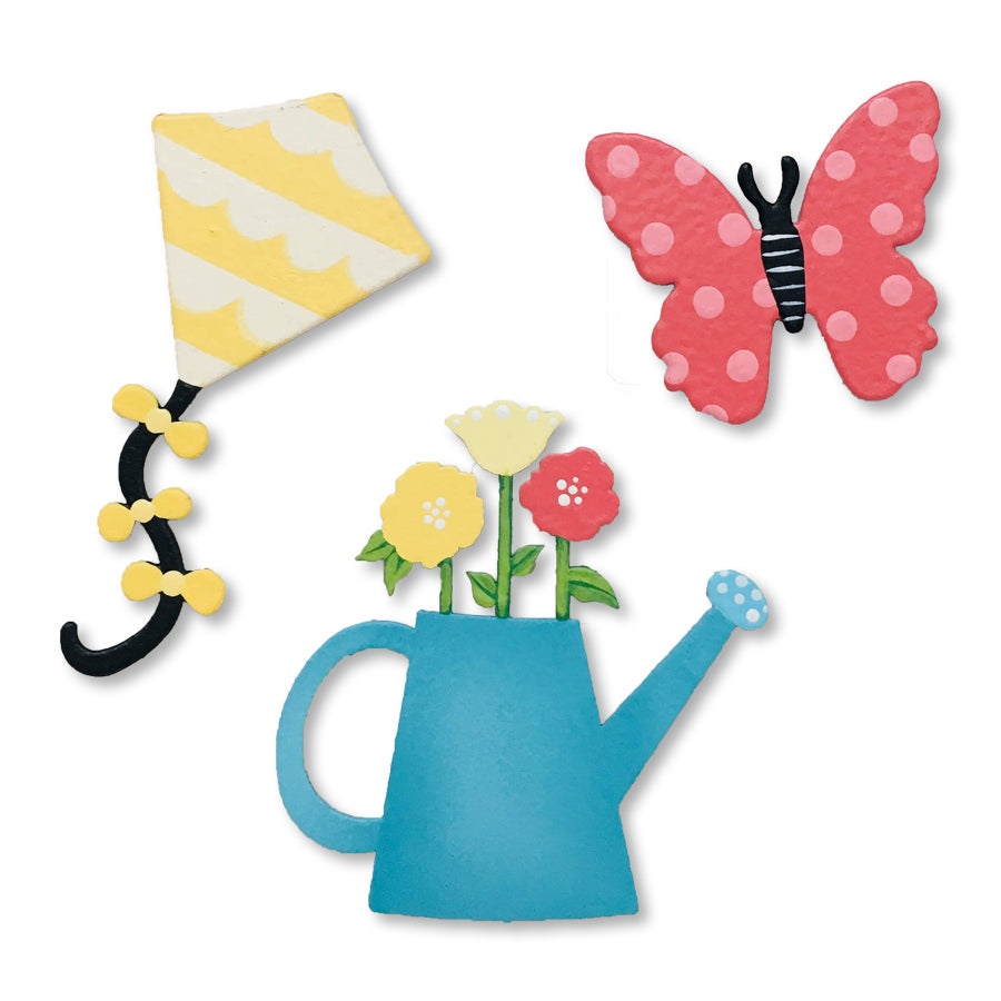 Spring w/ Kite Magnets S/3