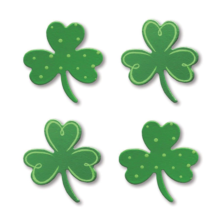 Shamrock w/ Pattern Magnets S/4