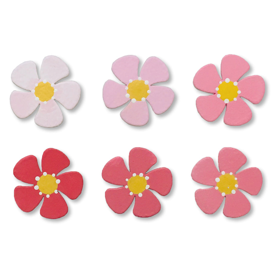Flower Ombre Magnets | Set of 6