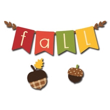 "Load image into Gallery viewer, ""Fall"" Banner Magnets S/3"