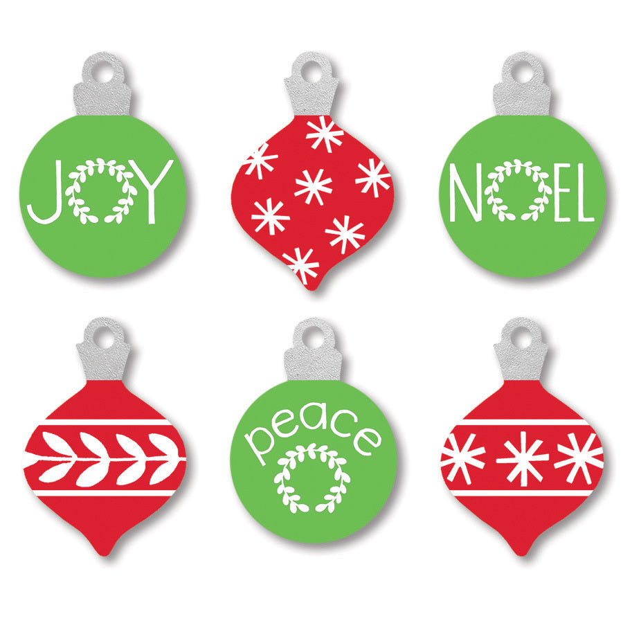 Ornament Magnets S/6
